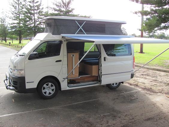 Camper Van With Extras