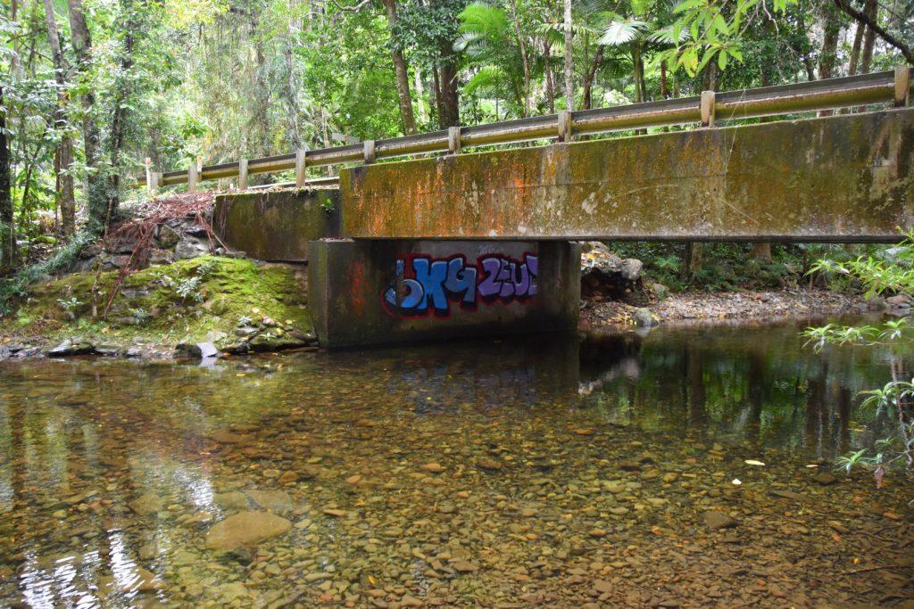 Graffiti here?