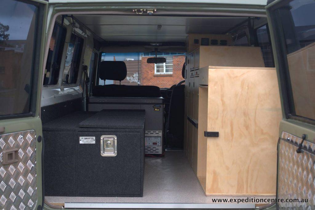 driver side storage
