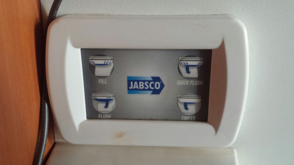 toilet control