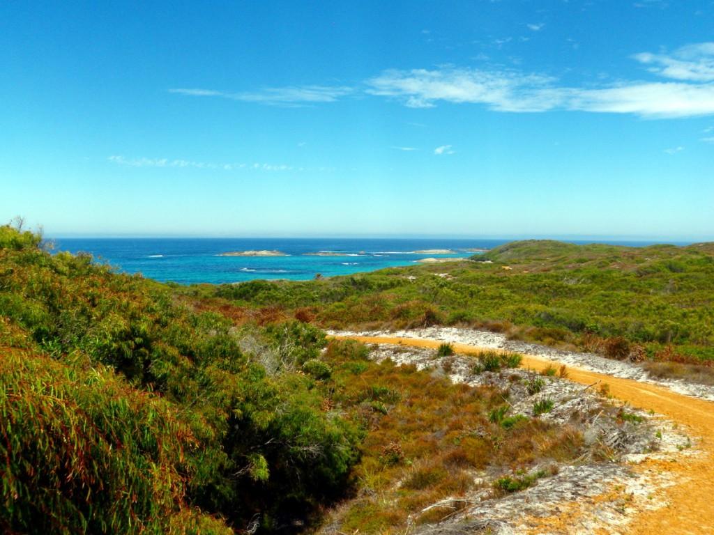 The coastline here is very impressive
