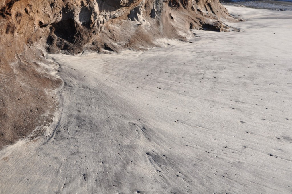 Sand meets rock