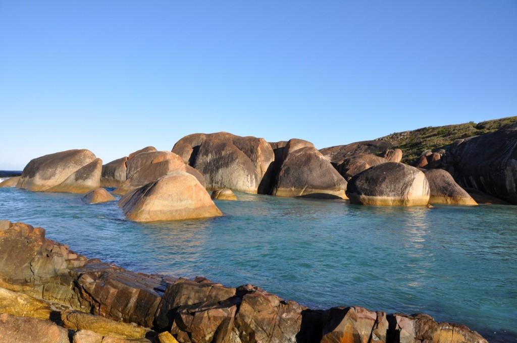 Other side of elephant rocks