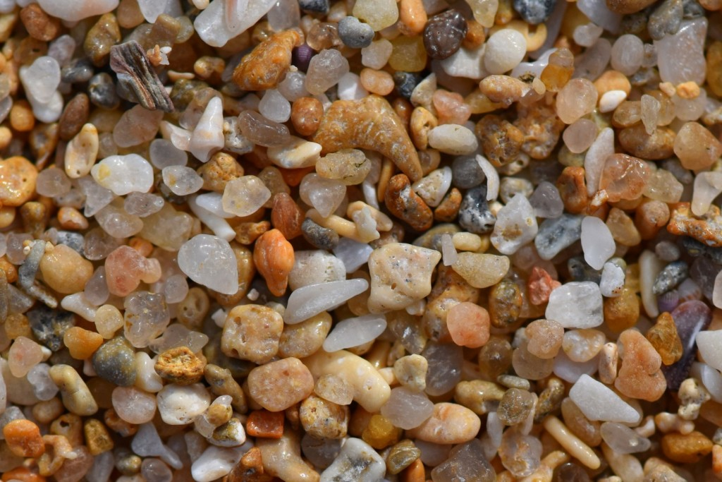 Beach grit